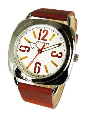 Часы TOKYObay. Цвет: терракотовый