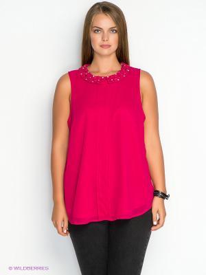 Блузка New Look. Цвет: фуксия