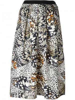 Pleated Swinton Butterfly skirt Valentine Gauthier. Цвет: чёрный