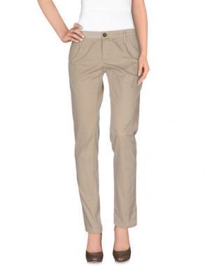 Повседневные брюки DEPARTMENT 5. Цвет: бежевый
