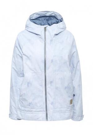 Куртка горнолыжная Burton. Цвет: голубой