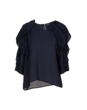 Блузка EDWARD ACHOUR. Цвет: темно-синий