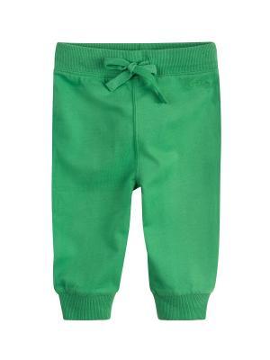 Брюки трикотажные Endo. Цвет: зеленый
