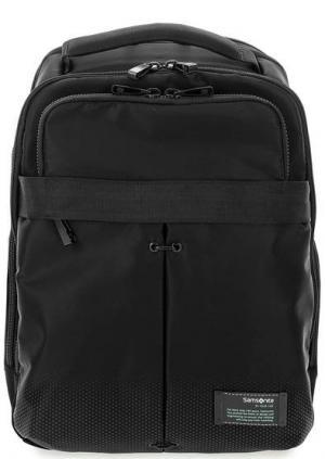 Вместительный текстильный рюкзак Samsonite. Цвет: черный