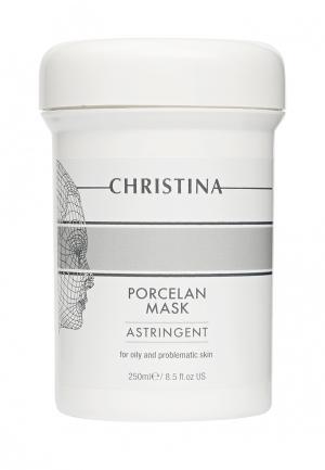 Поросуживающая маска «Порцелан» Christina. Цвет: белый