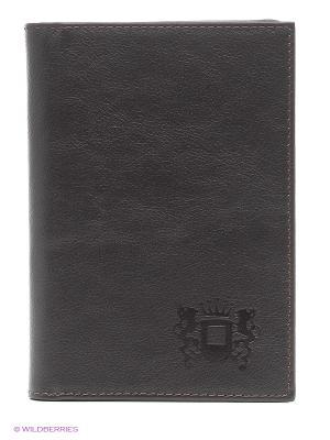 Бумажник водителя Леон Paolo Veronese. Цвет: коричневый