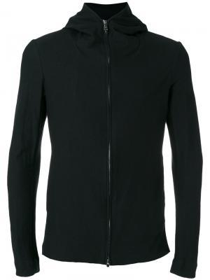 Куртка на молнии с капюшоном  Forme Dexpression D'expression. Цвет: чёрный