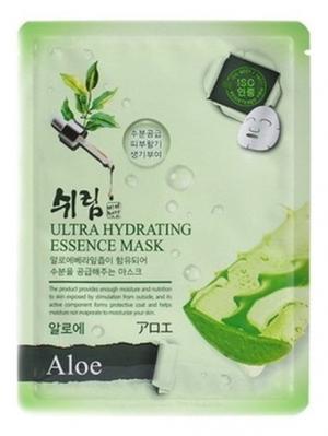 Комплект увлажняющих масок с натуральным экстрактом алоэ, 25 мл.*3 шт. Shelim. Цвет: белый