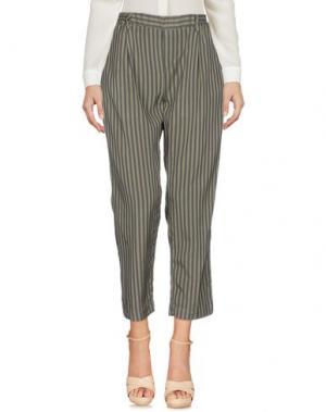 Повседневные брюки J-CUBE. Цвет: зеленый-милитари