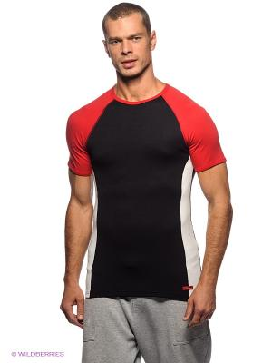 Термобелье-футболка BlackSpade. Цвет: красный, черный