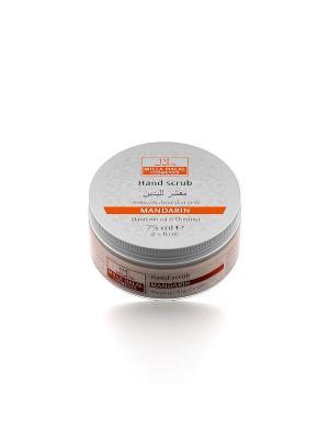 Скраб для рук с маслом мандарина и экстрактом каштана MANDARIN MILLA HALAL COSMETICS. Цвет: белый