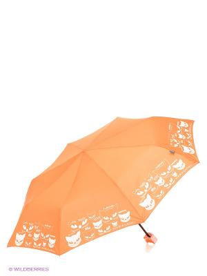 Зонт H.DUE.O. Цвет: оранжевый