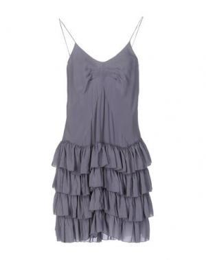 Короткое платье SITA MURT/. Цвет: темно-фиолетовый
