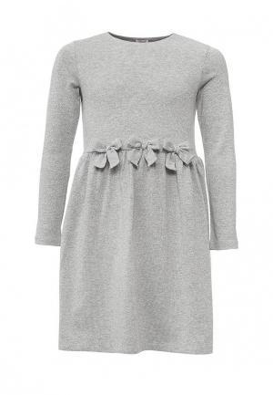 Платье Il Gufo. Цвет: серебряный