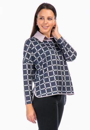 Блуза Mankato. Цвет: синий