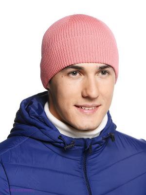 Шапка FORTI. Цвет: бледно-розовый