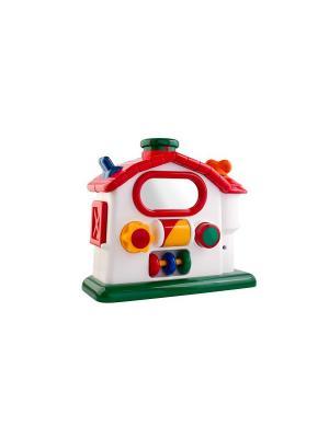 Набор игрушек Механическая ферма Tolo. Цвет: белый