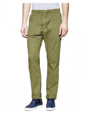 Брюки United Colors of Benetton. Цвет: антрацитовый, бронзовый, темно-зеленый