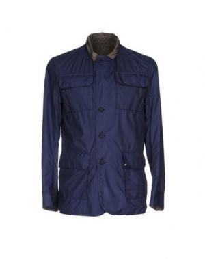 Легкое пальто KIRED. Цвет: синий
