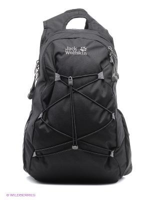 Рюкзак SAVONA Jack Wolfskin. Цвет: черный