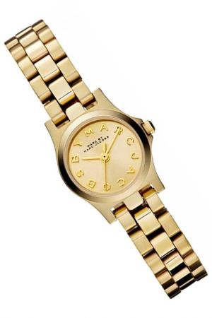 Watch Marc Jacobs. Цвет: gold