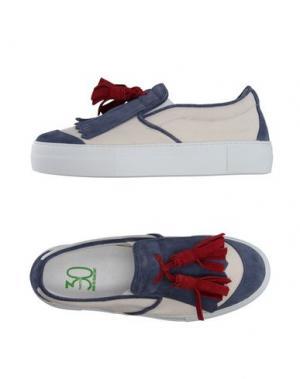 Низкие кеды и кроссовки THIRTY U. Цвет: грифельно-синий