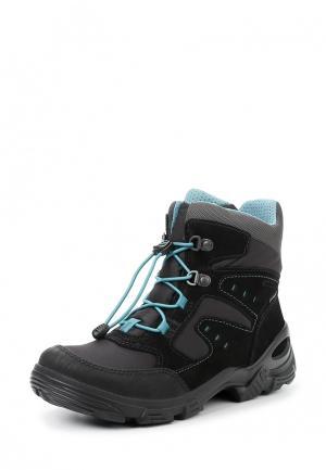 Ботинки SNOWBOARDER Ecco. Цвет: черный