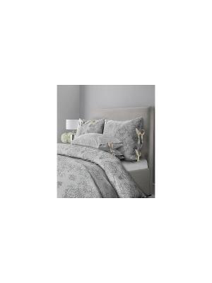 Комплект постельного белья SL Chalet 2-х сп. Бархатный серый Mona Liza. Цвет: серый