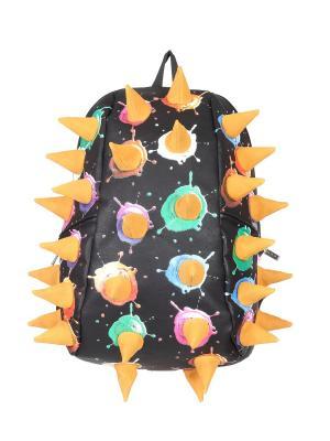 Рюкзак MadPax. Цвет: черный, оранжевый