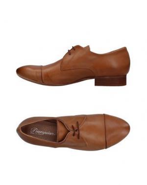 Обувь на шнурках PIAMPIANI. Цвет: коричневый