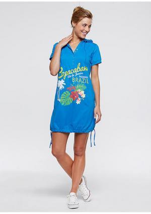 Пляжное платье. Цвет: цвет морской волны