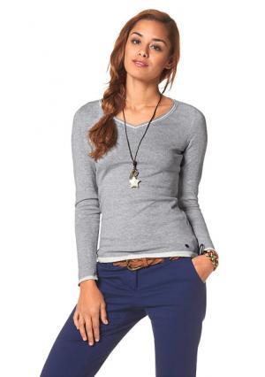 Пуловер AJC. Цвет: бирюзовый, коралловый, серый меланжевый, темно-синий, черный