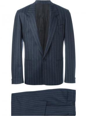 Брючный костюм E. Tautz. Цвет: синий