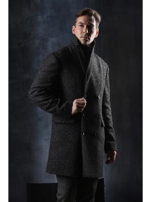 Пальто Paxton. Цвет: темно-серый