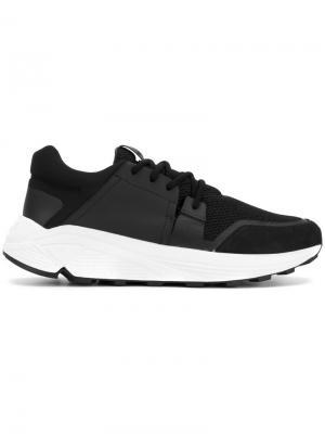 Сетчатые кроссовки Etq.. Цвет: чёрный