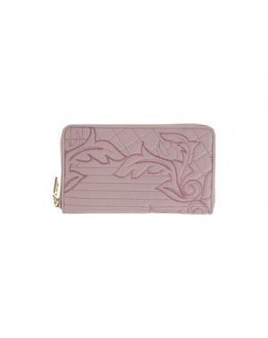 Бумажник GIANNI VERSACE. Цвет: светло-коричневый