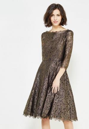 Платье Zarina. Цвет: золотой