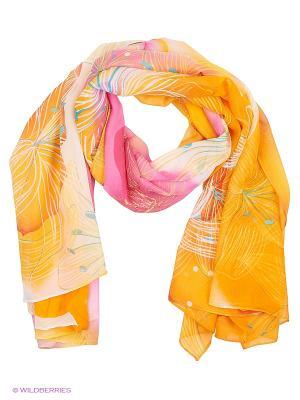 Парео текстильное Vittorio Richi. Цвет: желтый, розовый