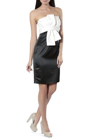 Платье Aftershock. Цвет: ivory black