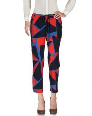 Повседневные брюки DORALICE. Цвет: розовый