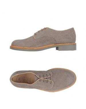 Обувь на шнурках CORVARI. Цвет: хаки