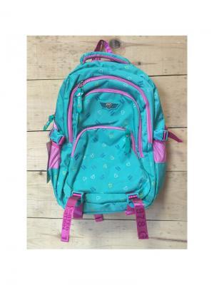 Рюкзак спортивный, цвет морской волны, WC18220, Winged Crown Gaoba. Цвет: морская волна