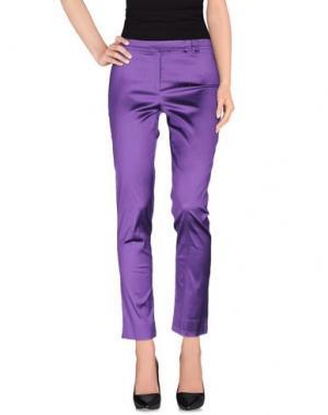 Повседневные брюки ALESSANDRO LEGORA. Цвет: розовато-лиловый