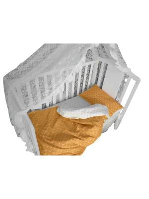 Детское постельное белье БИОСОН. Цвет: коричневый