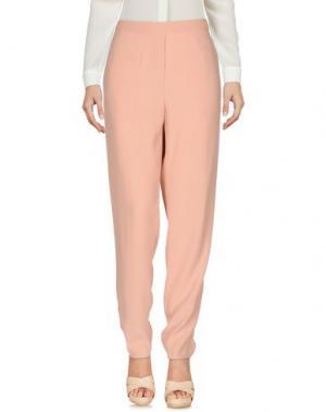 Повседневные брюки ATTIC AND BARN. Цвет: розовый