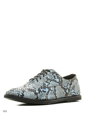 Ботинки Calipso. Цвет: голубой