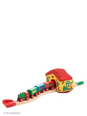 Моя первая железная дорога BRIO. Цвет: желтый, зеленый, синий