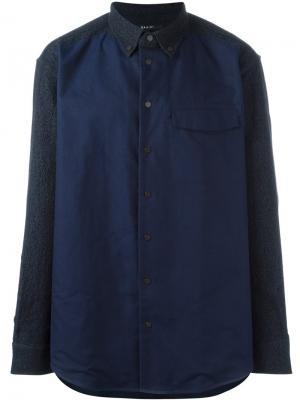 Рубашка Bellona Qasimi. Цвет: синий