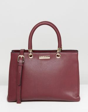 Carvela Мягкая сумка-тоут Darla. Цвет: красный