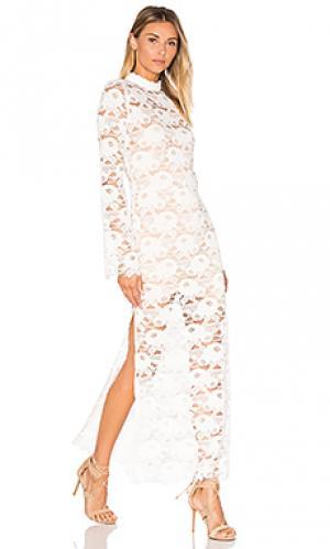Кружевное платье rosamond Spell & The Gypsy Collective. Цвет: белый